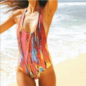 Gypsea Swimwear Soda Pop Reversible One Piece